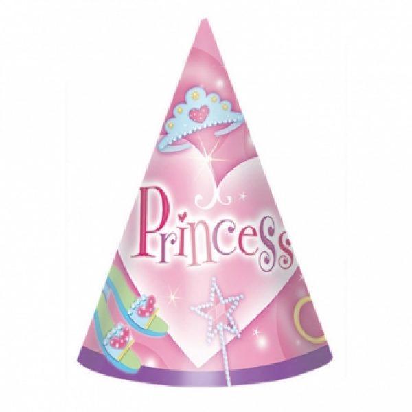 8 Prinzessin Partyhüte-0