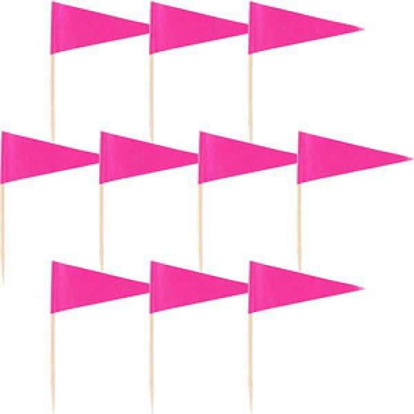 36 Pink Flaggen Picks-0