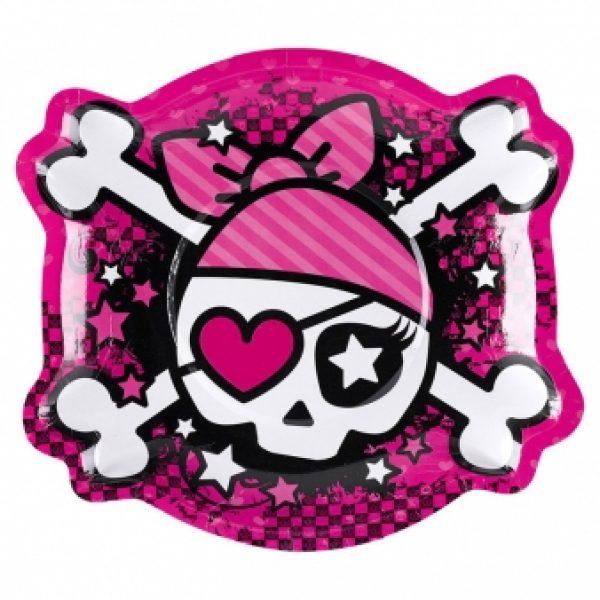 6 Pink Pirate Formteller-0