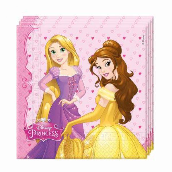 20 Disney Prinzessin Servietten-0