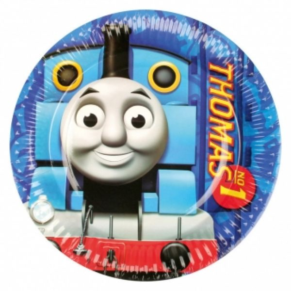 8 Thomas die Lokomotive Teller-0
