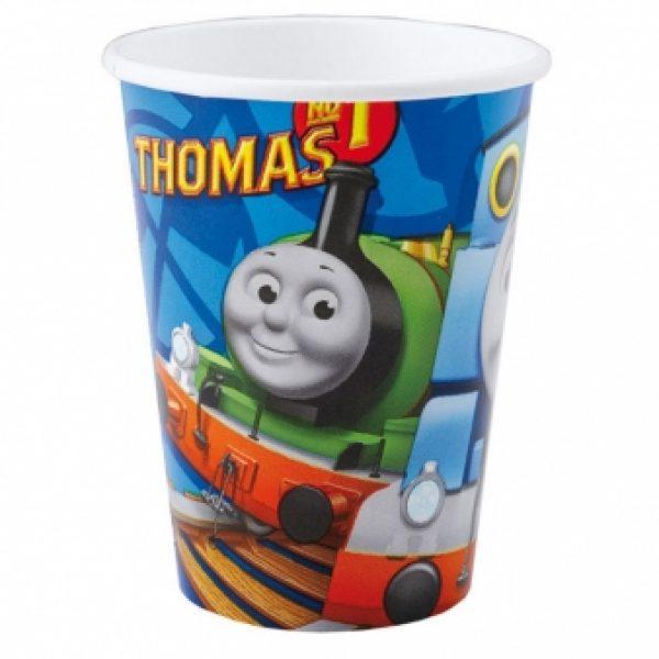 8 Thomas die Lokomotive Pappbecher-0