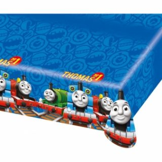 Thomas die Lokomotive Tischdecke 120 x 180 cm-0
