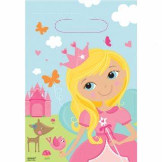 8 Woodland Prinzessin Partytüten-0