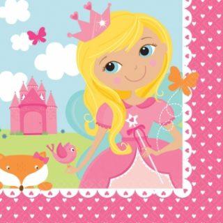 16 Woodland Prinzessin Servietten-0