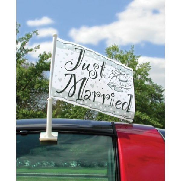 Just Married Autoflagge-0