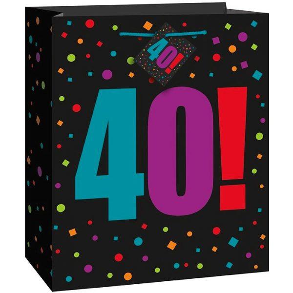 40. Geburtstag Geschenk Tasche-0