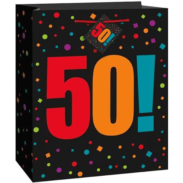 50. Geburtstag Geschenk Tasche-0