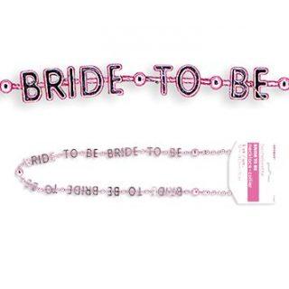 """""""Bride to Be"""" Halskette für Polterabend-0"""
