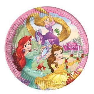 8 Disney Prinzessin Pappteller-0