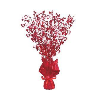 Rote Herzen Tischdekoration -0