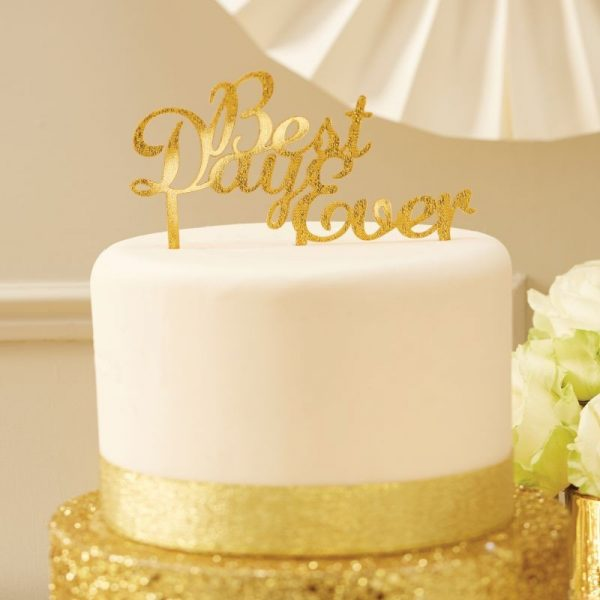 Best Day Ever Cake Topper Pick-0