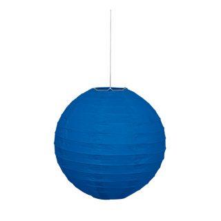 Lampion Blau 25 cm-0