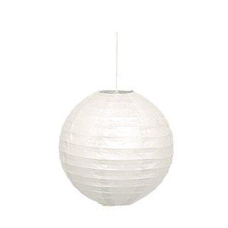 Lampion Weiss 25 cm-0