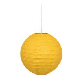 Lampion Gelb 25 cm-0
