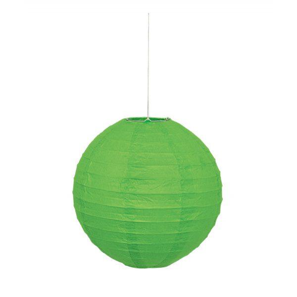 Lampion Grün 25 cm-0