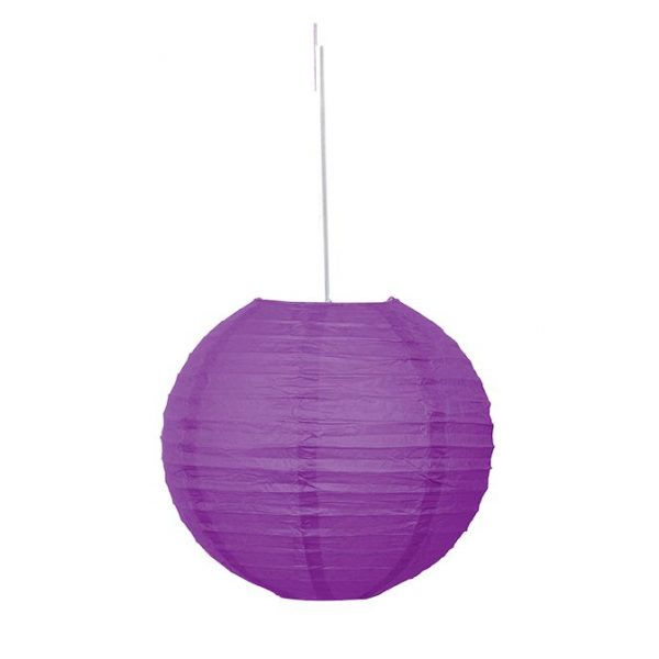 Lampion Lila 25 cm-0