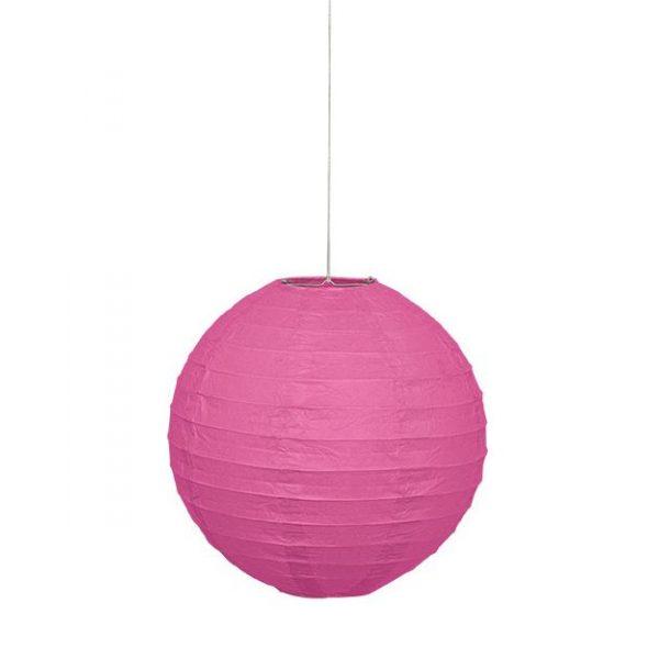 Lampion Pink 25 cm-0