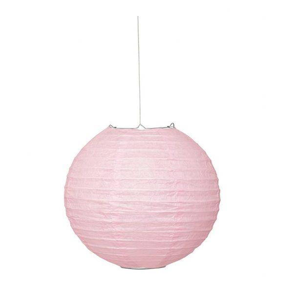 Lampion Rosa 25 cm-0