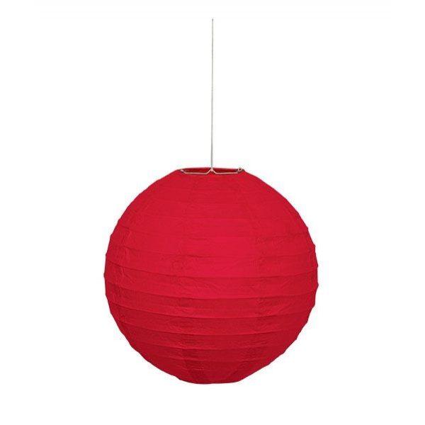Lampion Rot 25 cm-0