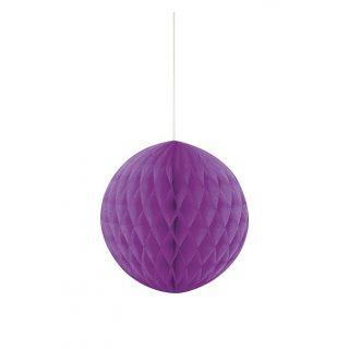 Wabenball Lila 20 cm-0