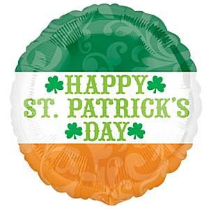 St. Patrick's Day Folienballon 45 cm-0