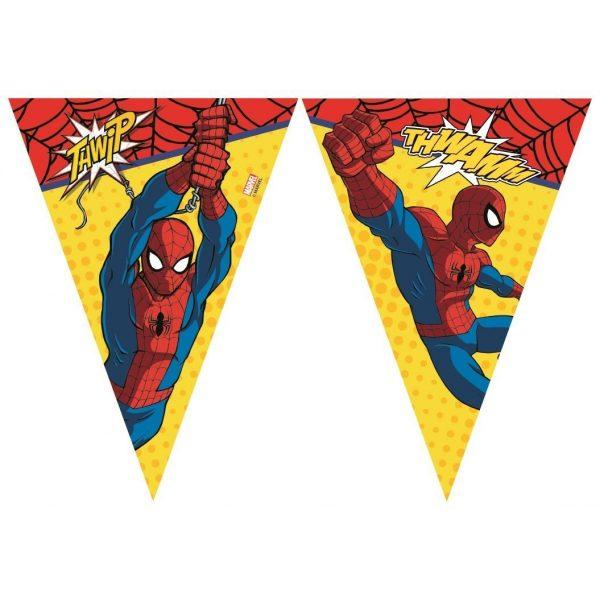 Ultimate Spiderman Wimpelkette-0