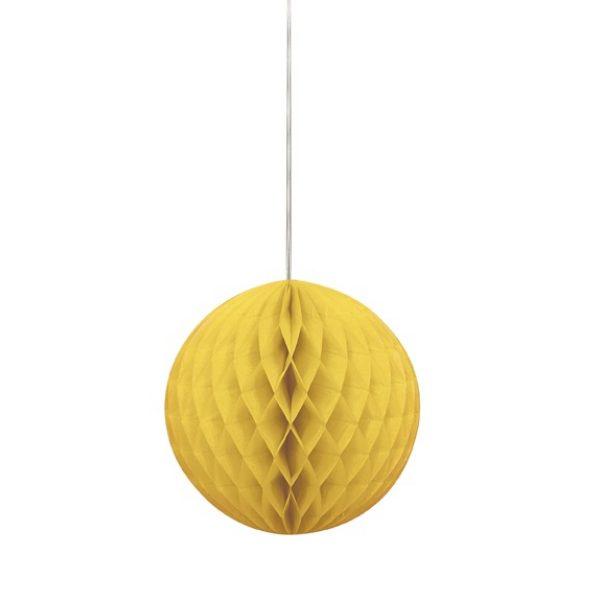 Wabenball Gelb 20 cm-0