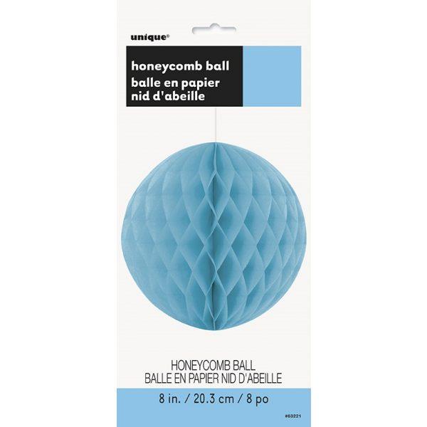 Wabenball Hellblau 20 cm-2718