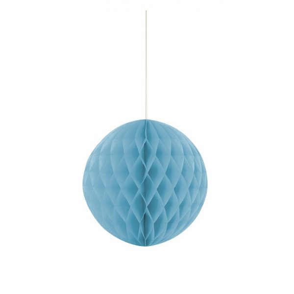 Wabenball Hellblau 20 cm-0