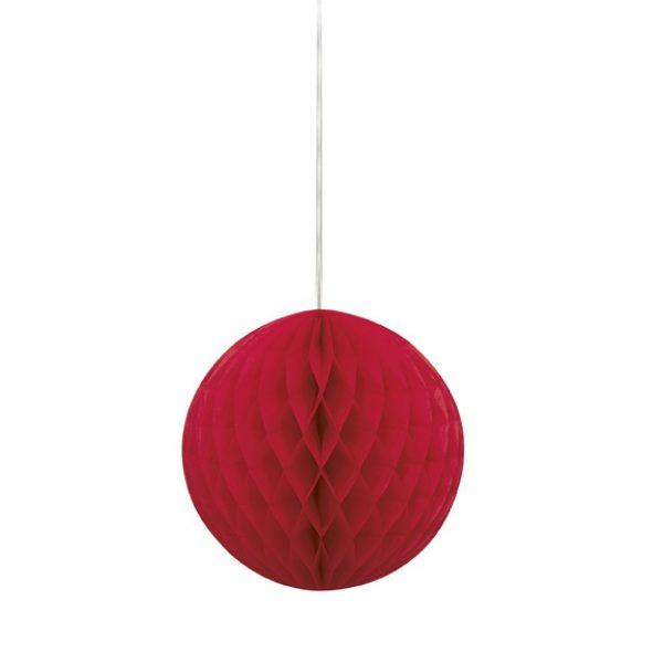 Wabenball Rot 20 cm-0
