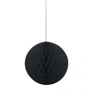 Wabenball Schwarz 20 cm-0