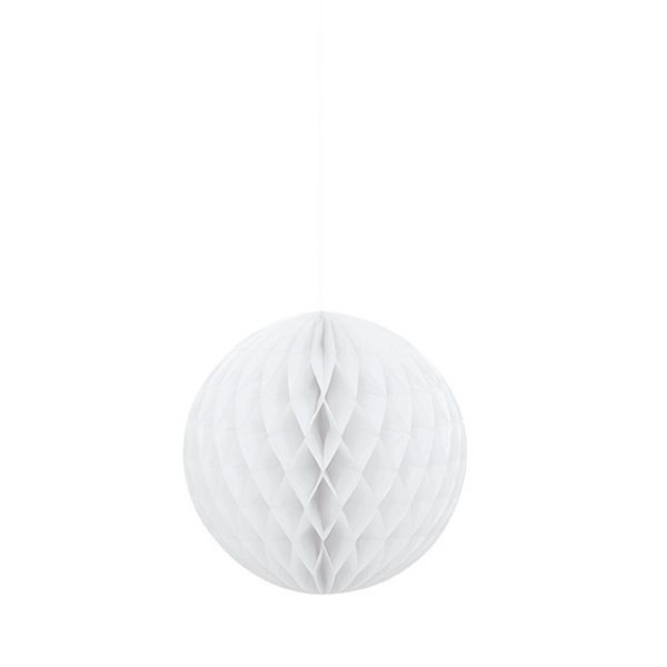 Wabenball Weiss 20 cm-0