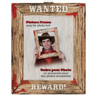 Western Wanted Poster Photo Booth-0