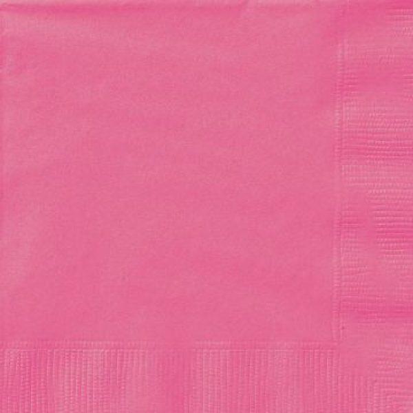 20 Servietten Pink 33 cm-0