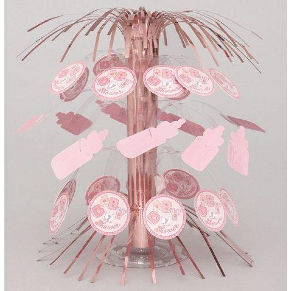 Baby Tischdeko Mini Cascade Mädchen Rosa Pink-0