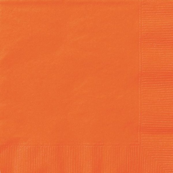 20 Servietten Orange 33 cm-0