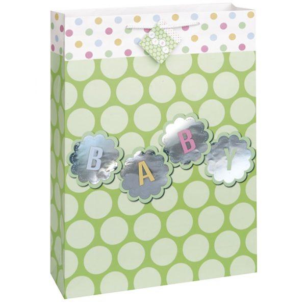 Jumbo Baby Geschenk Tasche Pastel Dots-0