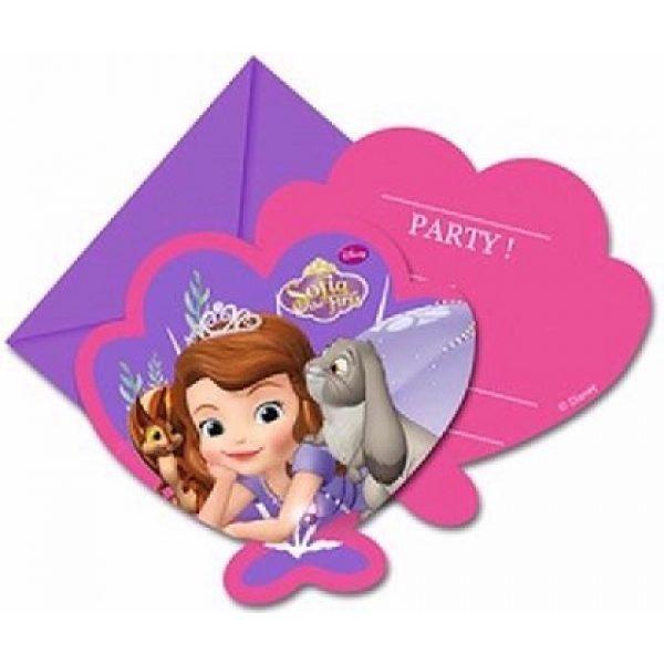 8 Einladungen Prinzessin Sofia Pearl of the Sea-0
