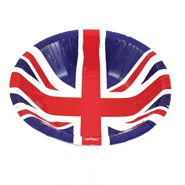 8 Pappschüssel UK Great Britian Party -0
