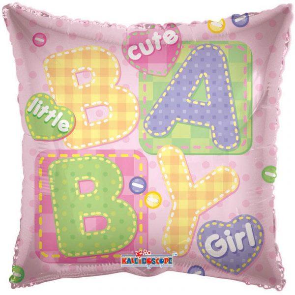 It's a Girl Folienballon 45 cm-0