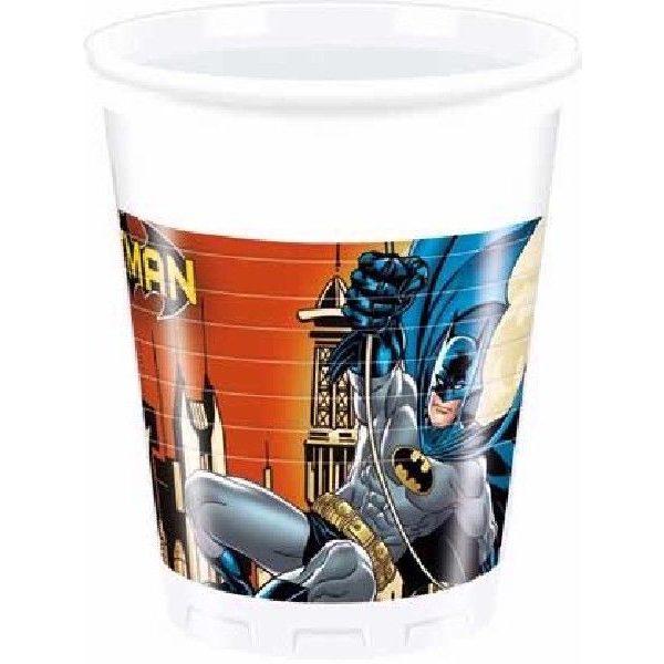 8 Batman Plastikbecher-0