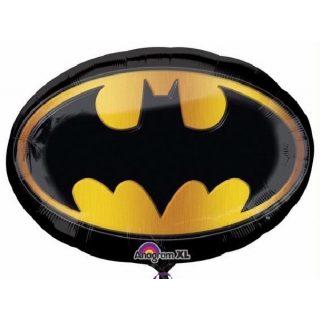 XL Batman Logo Supershape Folienballon 68 cm -0
