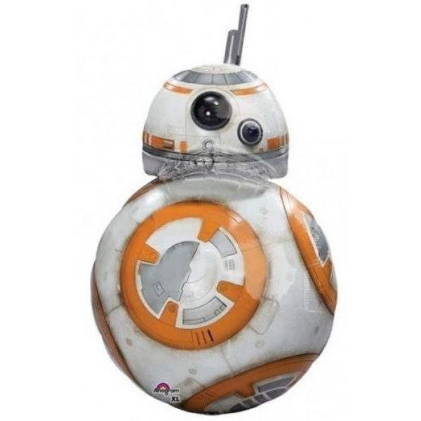 BB8 Supershape Folienballon 83cm -0