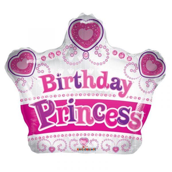 Birthday Prinzessin Folienballon -0