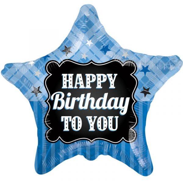 Happy Birthday to You Folienballon 45 cm -0