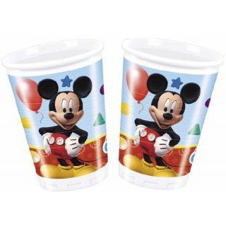 8 Mickey Maus Plastikbecher-0
