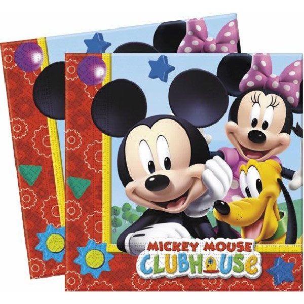 20 Mickey Maus Servietten -0