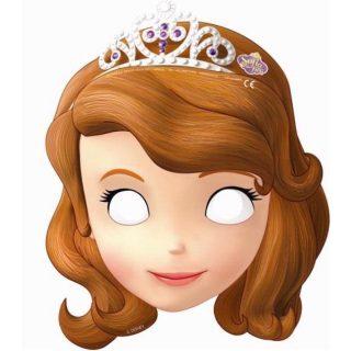 6 Masken Prinzessin Sofia die Erste-0