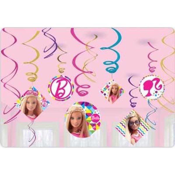 Barbie Hängedekoration Swirl Dekorationen-0